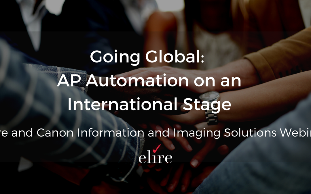 Webinar: Going Global – AP Automation on an International Stage