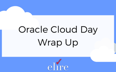 Oracle Cloud Day Wrap Up