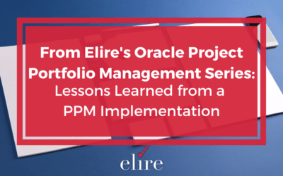 Lessons Learned from a PPM Implementation