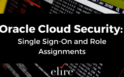 Oracle Cloud Security: Single Sign-On and Role Assignments
