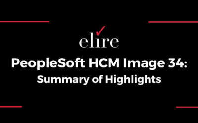 PeopleSoft HCM Image 34: Summary of Highlights