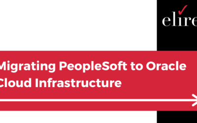 Migrating PeopleSoft to Oracle Cloud Infrastructure