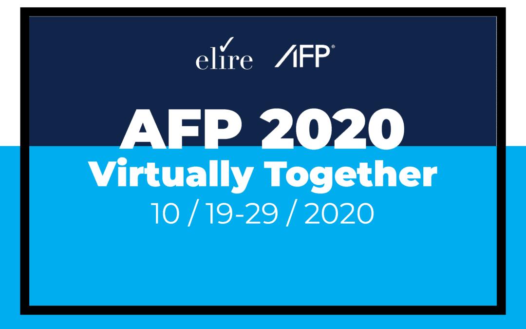 Attending AFP 2020