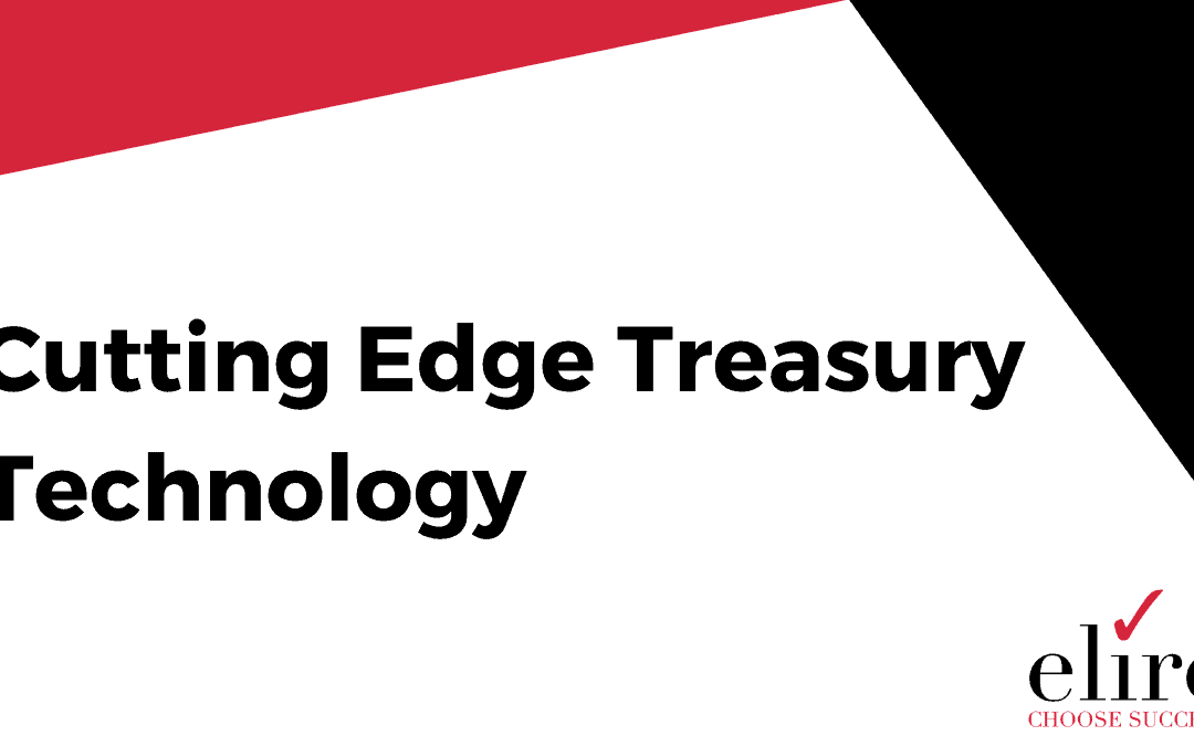 Cutting Edge Treasury Technology