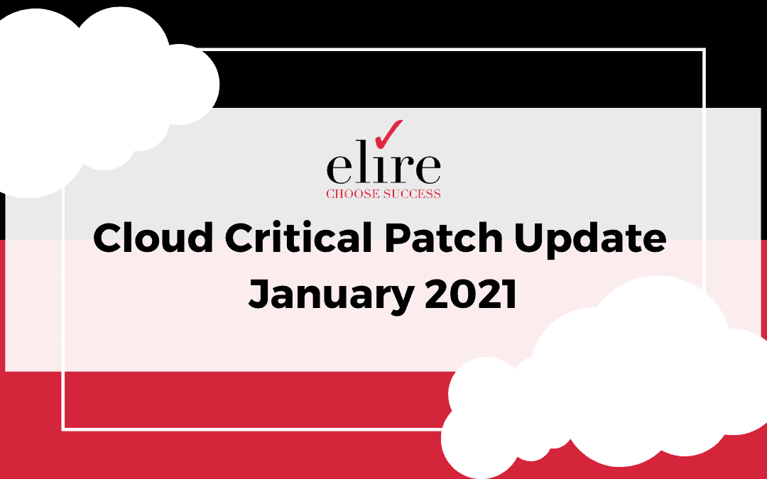 Cloud Critical Patch Update January 2021
