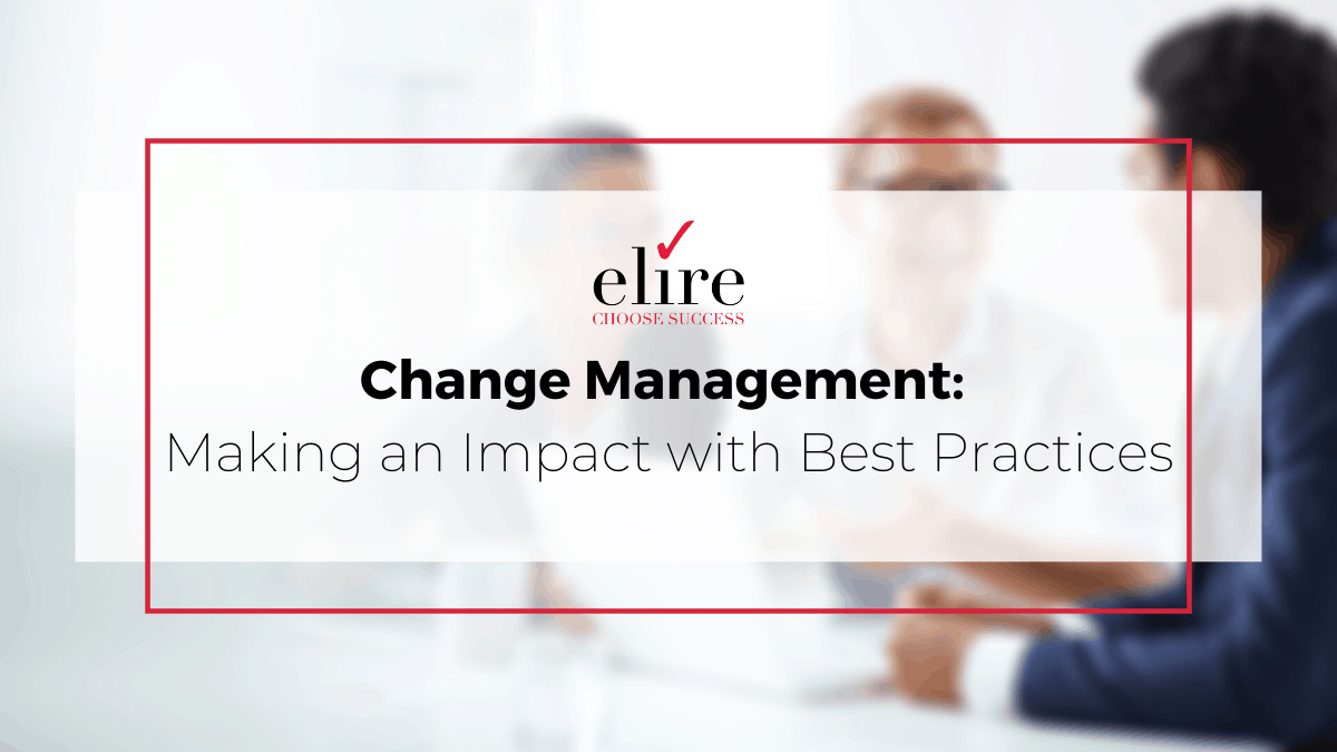 Change management includes a comprehensive approach to developing and executing a set of organized activities