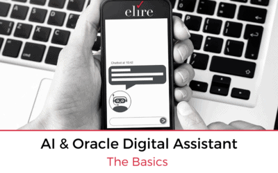 AI & Oracle Digital Assistant – The Basics