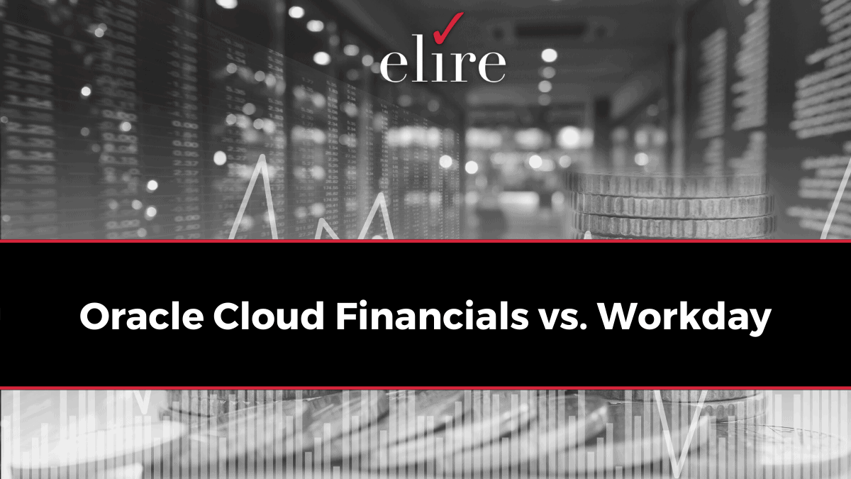 Oracle Cloud Fin vs. Workday