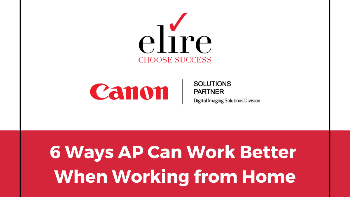 Ways AP can work better when working from home.