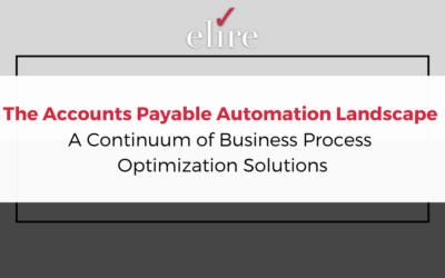 The Accounts Payable Automation Landscape