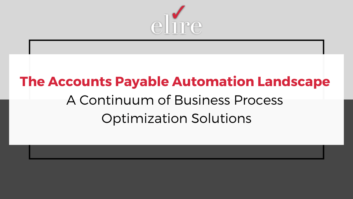 Accounts Payable Automation Software Solutions