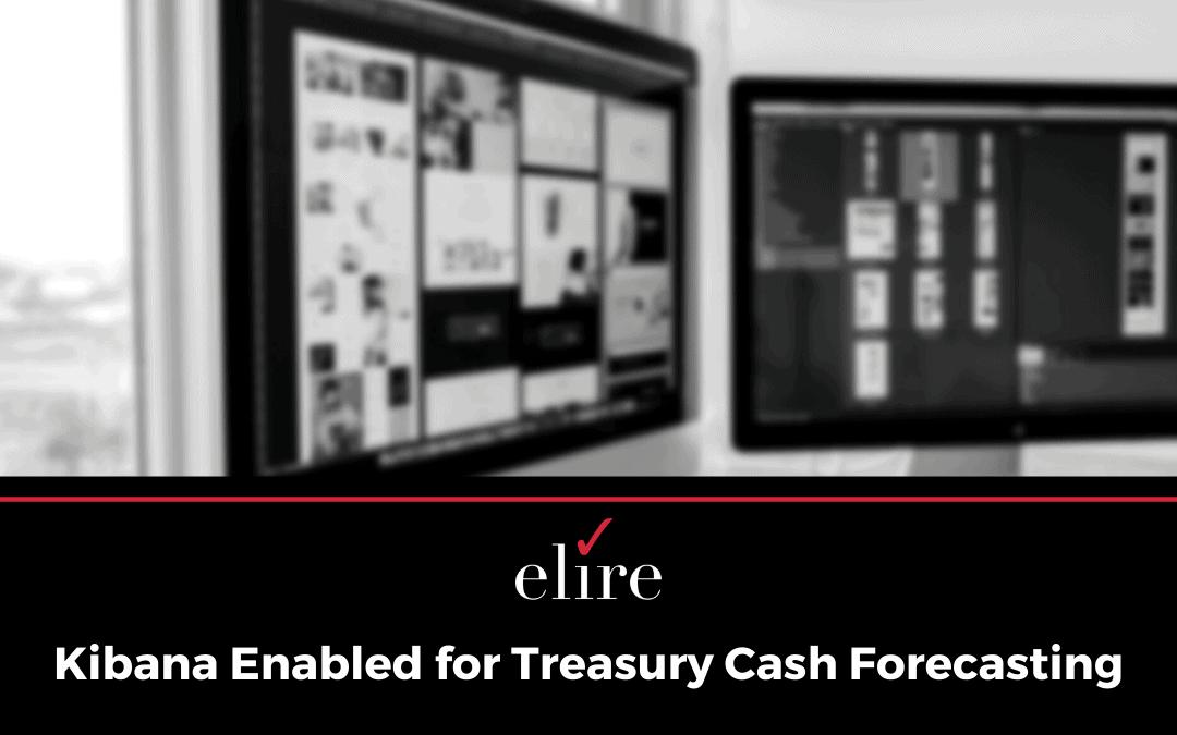 Kibana Enabled for Treasury Cash Forecasting