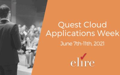Recap: Quest Cloud Applications Week