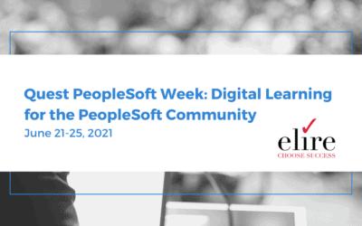 Recap: PeopleSoft Week – Practical Digital Learning for the PeopleSoft Community
