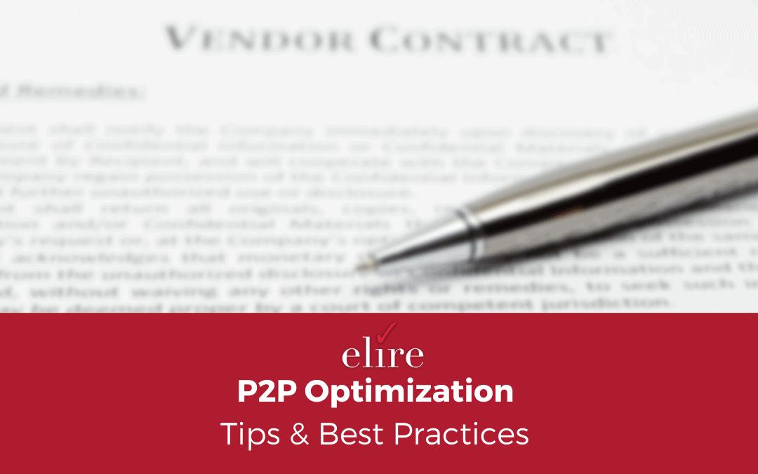 P2P Optimization Tips & Best Practices