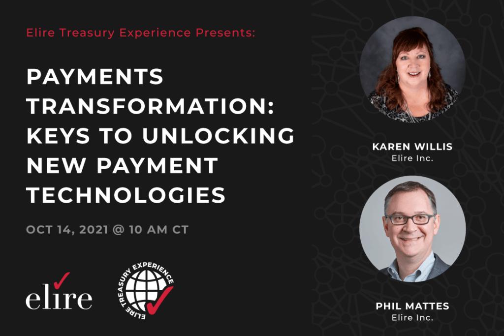 ETE 2021 Payments Transformation